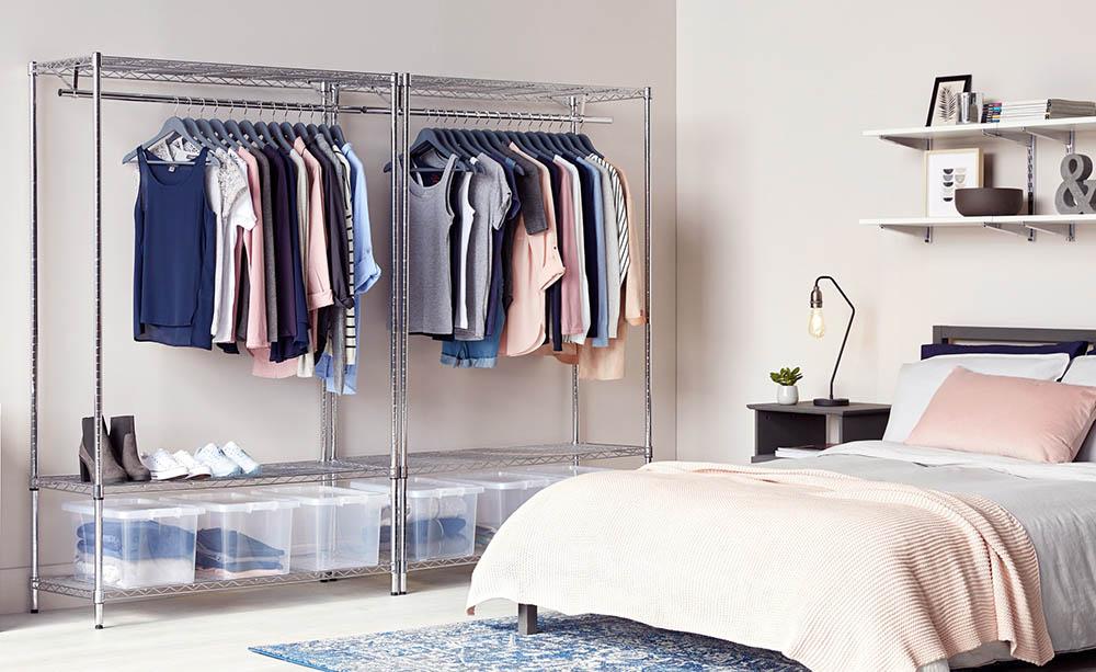 Shopfitting warehouse bedroom interior photography