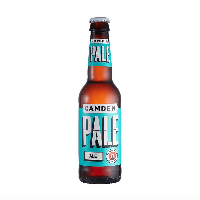 Camden pale ale pack shot drinks photography