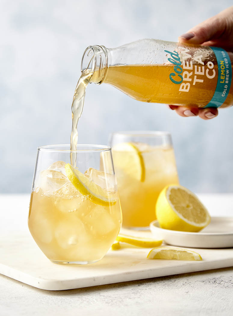 brew tea co cold brew drinks photography