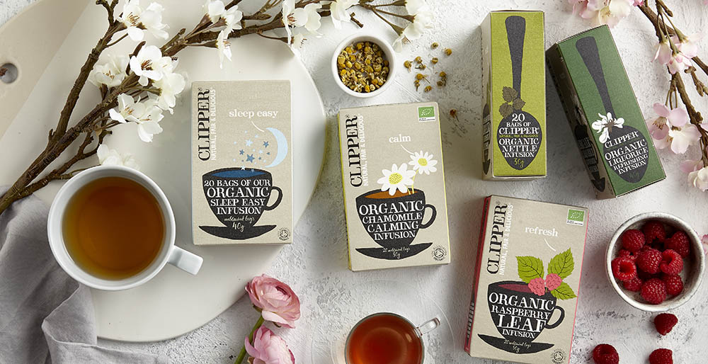 clipper infusions tea drink photography