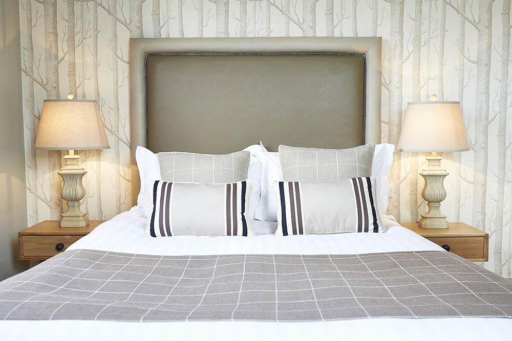 hotel bedroom interior photography